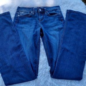 Joe's rocker slight boot cut medium wash sz 25